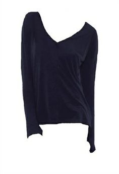 Feel The Piece Nero Top with Thumbholes | ShopAmbience.  Love the casual, chic, comfortable style of Feel The Piece tops.  An essential for your wardrobe.  #FeelThePiece