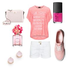 """""""City"""" by merijam5 on Polyvore featuring Replace, Vans, Kate Spade, NARS Cosmetics, Marc Jacobs and Current/Elliott"""
