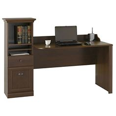 Metro Shop Bush Barton Bing Cherry Computer Workstation Desk
