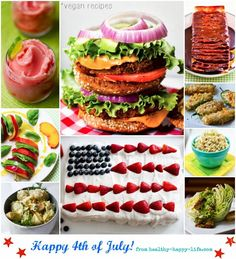 Vegan 4th of July Recipes + Photographing Fireworks: 3 Tips!