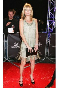 Moss helped create this 1920s-inspired Topshop dress for the Swarovski Fashion Rocks concert.