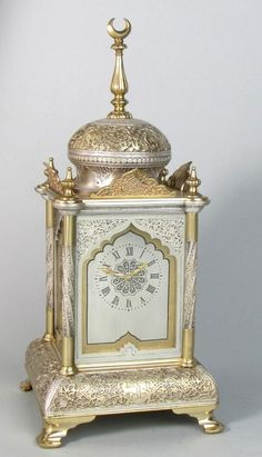 An Ottoman Style Carriage Clock