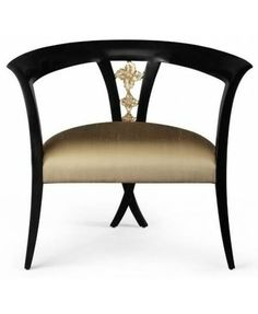 Shop for Christopher Guy Chair, and other Living Room Chairs at Noel Furniture in Houston, TX. With perfect integration, the signature Chris-X legs slip seamlessly into the carved backrest, making this elegant occasional chair a true masterpiece. Ottoman In Living Room, Chair And Ottoman, Living Room Chairs, Dining Chairs, Cool Chairs, Side Chairs, High Quality Furniture, Modern Furniture, Furniture Ideas