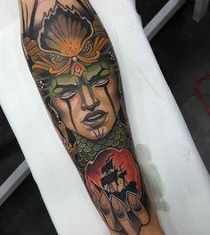 arm tattoo calypso