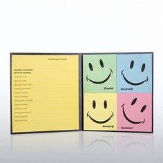 Smile Maker Edition Peel & Stick Recognition Note Set