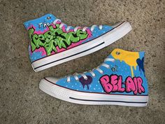 Fresh Prince of Bel Air Hand Painted Shoes Source by kelissam clothing Custom Painted Shoes, Hand Painted Shoes, Custom Shoes, Prince Shoes, Painted Sneakers, Nike Air Shoes, Aesthetic Shoes, Selfies, Hype Shoes