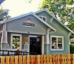 Bungalow | Rainey Street Bars and Restaurants | Austin, Texas