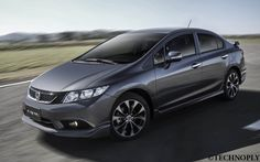 Honda Reveals Redesigned Civic - http://www.technoply.com/honda-reveals-redesigned-civic/