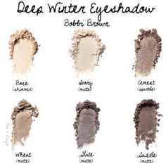 Deep Winter Eyeshadow: Bobbi Brown