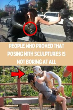 Like most of us, you probably have some poses that you repeat quite often when taking a picture next to a sculpture. So, if you want to get some inspiration and stand out in a crowd of photos, we urge you to have a look at these super cool photos of people who did not go with conventional poses and took posing with sculptures to another level. Full Body Tattoo, Upcycled Crafts, Diy Crafts, Eye Makeup Art, Letter A Crafts, Crazy Makeup, Summer Fashion Trends, Ink Painting, Creative Crafts