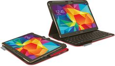 Logitech Adds Color to Samsung Keyboard Case - check it out in Bright Red!