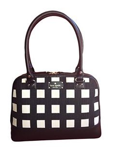Kate Spade Wellesley Rachelle Handbag Pop Art Square Black/Cream Review