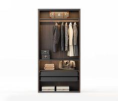 Fittings Tech - Enclosures W. Men Closet, Wardrobe Closet, Walk In Closet, Storage Drawers, Storage Boxes, Modern Architectural Styles, Wardrobe Design Bedroom, Closet Designs, Drawer Fronts
