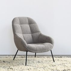 Design by Note Design StudioThe Mango chair is upholstered with solid wood frame with MDF webbing spring system, topped with high density foam profiles and blac