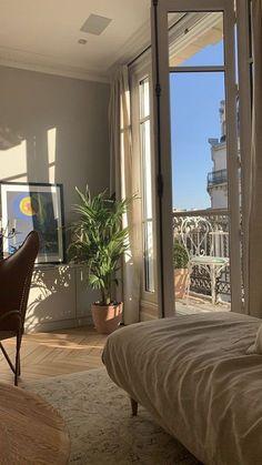 Dream Home Design, My Dream Home, Arquitectura Wallpaper, Dream Apartment, Parisian Apartment, Studio Apartment, Room Ideas Bedroom, Men Bedroom, Bedroom Country