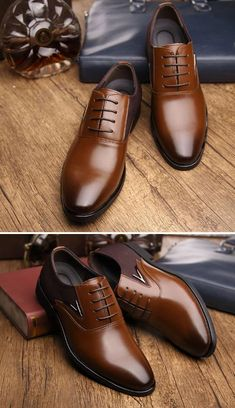 Glorious Italian Brand Men Genuine Leather Shoes Men Formal Shoes Loafers Slip On Oxford Shoes For Men Dress Office Shoes Plus Size 38-48 Men's Shoes