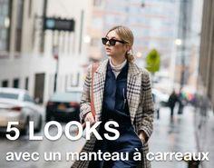 Avec quoi porter un manteau à carreaux ?
