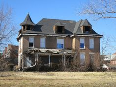 abandoned mansion: I actually know where this house is, in Detroit!!