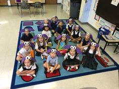Bat hats made by our Kindergartners Catholic School, Art Programs, Hat Making, Kindergarten, Kids Rugs, Hats, Kid Friendly Rugs, Hat, Preschool