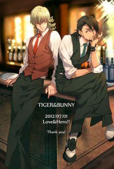 Tiger & Bunny, Kotetsu and Barnaby