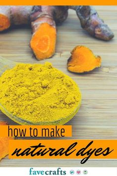 How to Make Natural Dyes for Fabric | FaveCrafts.com
