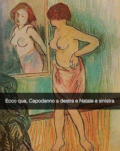 Donna che si guarda allo specchio - Suzanne Valadon (1920) Snapchat: stefanoguerrera   #seiquadripotesseroparlare  #stefanoguerrera
