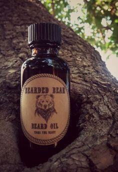 Beard Oil by BeardedBearProducts on Etsy