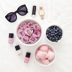 purple & pink hues