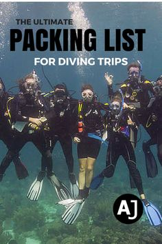 The Complete Scuba Packing List For Dive Travel