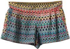 Element US Womens : Shorts / Skirts - Milan Short Silk Shorts, Printed Shorts, Weather Wear, Cute Shorts, Fashion Killa, Short Skirts, Spring Summer Fashion, Nice Dresses, Style Me