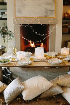 snowed in dinner party by camille styles for west elm | photos by wynn myers