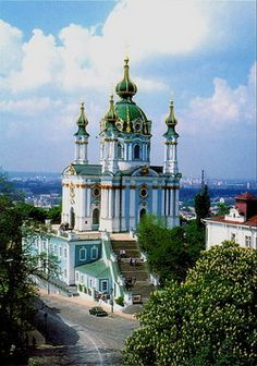St. Andrew's Church - Kyiv - Ukraine