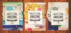 by KP    These are so cool, amazing way to use the pages of a catalog.
