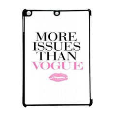 More Issues Than Vogue Lip iPad Pro 9.7 Case Dewantary