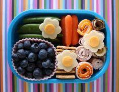 Bunt und gesund. Ein Beispiel für ein American Bento für Kinder