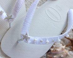 Items similar to Wedding shoes/flip flops AQUA blue, Bridesmaid gift, Bridesmaid favors, Wedding Flip Flops, Bridal Flip Flops, Beach Sandals - 1 Pair on Etsy