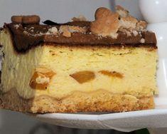 Sernik z brzoskwiniami, karmelową polewą i herbatnikami Tiramisu, Cheesecake, Ethnic Recipes, Food, Haha, Cheesecakes, Essen, Meals, Tiramisu Cake