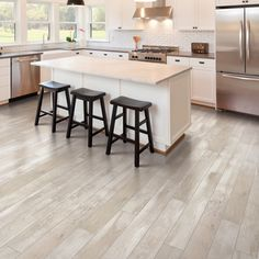 This Pergo Max Butterscotch Oak Engineered Hardwood Floor