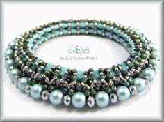❤ =^..^= ❤ deEva  - beaded jewelry: K 80 - Foina 2.