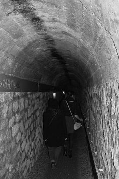 A portion of the Catacombs is open to the public, however there are dozens of secret entrances around Paris.