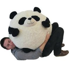 I found 'Massive Squishable Panda Bean Bag' on Wish, check it out!