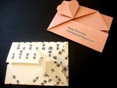 Terapia do Papel: Desmistificando dobras - diagrama Cartão e Envelope Lírio