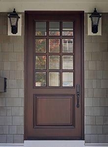 Solid Wood Entry Doors from Doors for Builders Entry Doors With Glass, Wood Entry Doors, Wood Exterior Door, Exterior Front Doors, Wooden Doors, Glass Door, Front Entry, Porte Cochere, Door Design Interior
