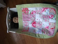 Doll Quilt: Newbie Style!