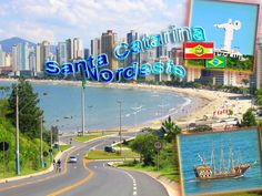 Litoral Santa Catarina Brasil