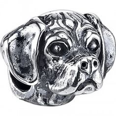 NEW!! #Puggle  | $79.95 | 925 Sterling Silver, Compatible with Trollbeads, Pandora, and Chamilia bracelets, Hand-crafted in the USA, Available at ANDREW GALLAGHER JEWELERS, Newark, DE 302-368-3380