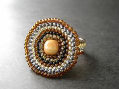 Sand Storm Ring by The Sage's Cupboard, via Flickr