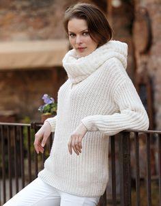 Book Woman Basics 11 Autumn / Winter | 6: Woman Sweater | Off-white
