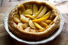 Tarta tatín de mango. Revisión del clásico francés de manzana