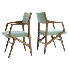 View A pair of armchairs by Gio Ponti on artnet. Browse upcoming and past auction lots by Gio Ponti. Home Decor Furniture, Furniture Decor, Home Furnishings, Modern Furniture, Furniture Design, Gio Ponti, Mid Century Decor, Mid Century Furniture, Chaise Chair